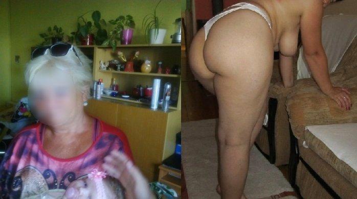 Babička anální sex